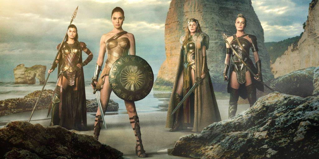 Амазонки - воины древнего мира